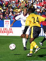 USMNT vs Jamaica, 2001 in Foxboro, MA, October 7, 2001.