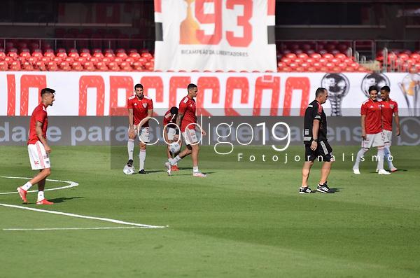 São Paulo (SP), 19/09/2021 - SÃO PAULO-ATLETICO GO - São Paulo e Atlético-GO, a partida é válida pela 21ª rodada do Campeonato Brasileiro 2021, no estádio do Morumbi, neste domingo (19).