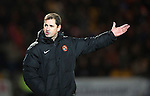 St Johnstone v Dundee United...27.12.14   SPFL<br /> Jackie McNamara<br /> Picture by Graeme Hart.<br /> Copyright Perthshire Picture Agency<br /> Tel: 01738 623350  Mobile: 07990 594431