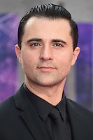 """Darius Campbell<br /> arrives for the """"Suicide Squad"""" premiere at the Odeon Leicester Square, London.<br /> <br /> <br /> ©Ash Knotek  D3142  03/08/2016"""
