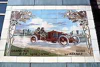 London: Michelin House. Tile Picture. Artist: Edouard Montaut, 1879-1909. (Photo 2005)