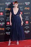 Najwa Nimri attends red carpet of Goya Cinema Awards 2018 at Madrid Marriott Auditorium in Madrid , Spain. February 03, 2018. (ALTERPHOTOS/Borja B.Hojas)