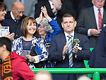 St Johnstone v Dundee United....17.05.14   William Hill Scottish Cup Final<br /> Chairman Steve Brown and his wife Louise<br /> Picture by Graeme Hart.<br /> Copyright Perthshire Picture Agency<br /> Tel: 01738 623350  Mobile: 07990 594431
