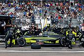 2017 Verizon IndyCar Series - Firestone Grand Prix of St. Petersburg<br /> St. Petersburg, FL USA<br /> Sunday 12 March 2017<br /> Charlie Kimball pit stop<br /> World Copyright:Sam Cobb/LAT Images<br /> ref: Digital Image cobb-stpete-170312-4355