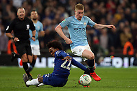 Kevin De Bruyne of Manchester City during the Carabao Cup Final match between Chelsea and Manchester City at Stamford Bridge on February 24th 2019 in London, England. (Photo by Paul Chesterton/phcimages.com)<br /> Foto PHC Images / Insidefoto <br /> ITALY ONLY