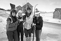 - NATO exercises AMF (Allied Mobil Force) in Norway, february 1986;Ian Italian Alpine from the Taurinense brigade fraternizes with the local population<br /> <br /> - Esercitazioni NATO AMF (Allied Mobil Force) in Norvegia, febbraio 1986; un Alpino italiano della brigata Taurinense fraternizza con la popolazione locale