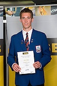 Boys Volleyball winner Johann Timmer from Rangitoto College. ASB College Sport Young Sportperson of the Year Awards 2008 held at Eden Park, Auckland, on Thursday November 13th, 2008.