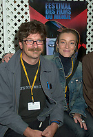 Aug 24 2002, Montreal, Quebec, Canada<br /> <br /> Alessandro d'Alatri (L)  and the actress Stefania Rocca (R)<br /> pose for photographers before the Press conference for the italian movie Casomai, presented in the Official Competition of the 26th World Film Festival.<br /> , Au g23 2002, in  Montreal, Quebec, Canada<br /> <br /> Born in Rome in 1955, Alessandro D'Alatri made his showbusiness debut at the age of eight acting in a production of The Cherry Orchard directed by Luchino Visconti. Before long, he was a veteran, playing roles in the theatre, on television and in the movies. The latter included roles in De Sica's GARDEN OF THE FINZI-CONTINIS and films by Valerio Zurlini and Ettore Scola. He began directing commercials and eventually became one of Italy's top directors of advertising films, earning prizes worldwide. He made his directorial debut in features with AMERICANO ROSSO (1991), which won that year's David di Donatello Prize for best first film in Italy. His 1994 feature, NO SKIN, was shown at the Montreal World Film Festival, and he directed THE GARDEN OF EDEN in 1998. <br /> <br /> <br /> Mandatory Credit: Photo by Pierre Roussel- Images Distribution. (©) Copyright 2002 by Pierre Roussel <br /> <br /> NOTE : <br />  Nikon D-1 jpeg opened with Qimage icc profile, saved in Adobe 1998 RGB<br /> .Uncompressed  Uncropped  Original  size  file availble on request.