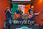 Dreams of Freedom performing in Turners Bar on Sunday, l to r: Adrian McCallen, Richie O'Brien and Kevin Goggin.
