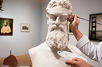 John Brown Bust Conservation - Tufts Art Gallery - Medford, MA