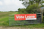 Vote Leave sign Cornwall  2016