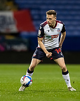 Bolton Wanderers' Tom White breaks<br /> <br /> Photographer Andrew Kearns/CameraSport<br /> <br /> EFL Papa John's Trophy - Northern Section - Group C - Bolton Wanderers v Newcastle United U21 - Tuesday 17th November 2020 - University of Bolton Stadium - Bolton<br />  <br /> World Copyright © 2020 CameraSport. All rights reserved. 43 Linden Ave. Countesthorpe. Leicester. England. LE8 5PG - Tel: +44 (0) 116 277 4147 - admin@camerasport.com - www.camerasport.com