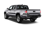Car pictures of rear three quarter view of 2016 Toyota Tacoma Limited 4 Door Pickup Angular Rear