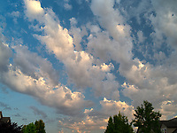 Clouds in Wilsonville.