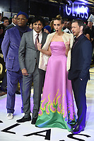 "Samuel L.Jackson, M. Night Shyamalan, Sarah Paulson and James McAvoy<br /> arriving for the ""Glass"" premiere at the Curzon Mayfair, London<br /> <br /> ©Ash Knotek  D3470  09/01/2019"