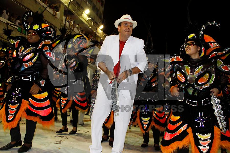 RIO DE JANEIRO, RJ, 07 DE MARÇO DE 2011 - CARNAVAL RJ - UNIÃO DA ILHA - A rainha de bateria Bruna Bruno da Escola de Samba União da Ilha, se apresenta no Sambódromo da Marquês de Sapucaí, durante o segundo dia dos desfiles do Grupo Especial do Carnaval 2011, do Rio de Janeiro. na noite desta segunda-feira (7).  (FOTO: WILLIAM VOLCOV / NEWS FREE).