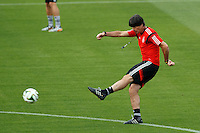 Germany manager Joachim Low during training