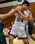 Cory basketball game against Paly Saturday, Feb. 9, 2013. (Photo by Paul Sakuma) www.paulsakuma.com
