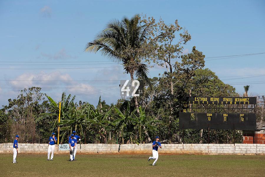 BASEBALL - POLES BASEBALL FRANCE - TRAINING CAMP CUBA - HAVANA (CUBA) - 13 TO 23/02/2009 - BALLPARK ESTADIO REGINO O'FARRILL HERNANDEZ