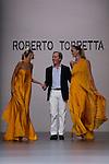02.09.2012. Models walk the runway in the Roberto Torretta fashion show during the Mercedes-Benz Fashion Week Madrid Spring/Summer 2013 at Ifema. In the image Roberto Torretta (Alterphotos/Marta Gonzalez)