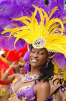 St. John Carnival Parade 2011.Cruz Bay, St. John.U.S. Virgin Islands