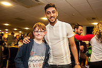 Tuesday  15 December 2015<br /> Pictured: Neil Taylor<br /> Re: Kids SCFC Christmas Party at the Liberty Stadium, Swansea