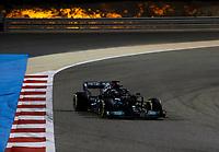 28th March 2021; Sakhir, Bahrain; F1 Grand Prix of Bahrain, Race Day;   44 Lewis Hamilton GBR, Mercedes-AMG Petronas F1 Team, F1 Grand Prix of Bahrain at Bahrain International Circuit on March 28, 2021 in Sakhir, Bahrain.