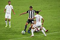 Rio de Janeiro (RJ), 01/08/2020 - Botafogo-Fluminense - Keisuke Honda (c), do Botaofogo. Partida amistosa entre Botafogo e Fluminense, realizada no Estádio Nilton Santos (Engenhão), na zona norte do Rio de Janeiro,  neste sábado (01).