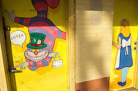 NoDa Neighborhood<br /> <br /> NoDa- Charlotte Historic Arts District, located in North Charlotte neighborhood in the North Davidson and 36th Street.<br /> <br /> Colorful artwork greets you as you enter the doors of Sunshine Daydreams on North Davidson Street in the NoDa neighborhood<br /> <br /> Charlotte Photographer - PatrickSchneiderPhoto.com