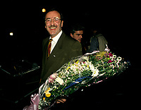 Montreal (QC) CANADA - File Photo - 1992-<br /> <br /> Andre Boulerice, Parti Quebecois MNA for Sainte-Marie-Saint-Jacques in Montreal.<br /> <br /> <br /> AndrÈ Boulerice (born May 8, 1946 in Joliette, Quebec) is a QuÈbÈcois politician and gay rights activist. He was a member of the National Assembly of Quebec for the riding of Sainte-MarieóSaint-Jacques in Montreal.<br /> <br /> Born in Joliette, he graduated in specialized education from CÈgep du Vieux MontrÈal. He joined the Parti QuÈbÈcois in 1970 and later worked for the Chambly school board.<br /> <br /> He was elected in the Sainte-MarieóSaint-Jacques riding in 1989, formerly under Claude Charron. Boulerice was reelected in 1994, 1998 and 2003. He was also the assistant leader in the government, president of the Quebec division of the AssemblÈe parlementaire de la Francophonie and Quebec immigration minister. He helped introduce civil union for same-sex couples. Boulerice resigned in September 2005.