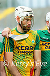John B O Halloran, Kerry before the National hurling league between Kerry v Down at Austin Stack Park, Tralee on Sunday.