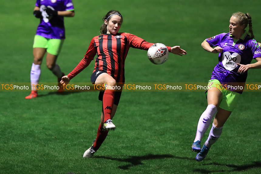 during Lewes Women vs Bristol City Women, FA Women's Continental League Cup Football at The Dripping Pan on 18th November 2020