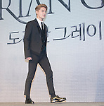 """Jun-Su (JYJ), Jul 11, 2016 : XIA (Junsu) arrives to attend a news conference promoting a new musical """"Dorian Gray"""" in Seoul, South Korea. The musical is based on Oscar Wilde's novel """"The Picture of Dorian Gray"""" and Junsu will play the lead role Dorian Gray. The creative musical will be opened at Seongnam Arts Center's Opera House in South Korea on September 3, 2016. (Photo by Lee Jae- Won/AFLO) (SOUTH KOREA)"""