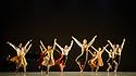 "Alston Dance Company presents ""An Italian In Madrid"" at Sadler's Wells. choreographed by Richard Alston, lighting design by Karl Oskar Sordal, costume design by Fotini Dimou. Picture shows: Ihsaan de Banya, Jennifer Hayes, Oihana Vesga Bujan, Vidya Patel, James Muller, Sharia Johnson, Liam Riddick, Nancy Nerantzi, Elly Braund, Ryan Ledger, Nicholas Bodych."