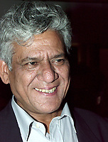 August 27, 2000, Montreal QC Canada<br /> <br /> Indian actor Om Puri was the subject of a tribute by the World Film Festival (Montreal, Canada) for his incredible career as an actor.<br /> <br /> Photo by Pierre Roussel /Images Distribution