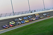 Monster Energy NASCAR Cup Series<br /> Daytona 500<br /> Daytona International Speedway, Daytona Beach, FL USA<br /> Sunday 18 February 2018<br /> Denny Hamlin, Joe Gibbs Racing, FedEx Express Toyota Camry, Kurt Busch, Stewart-Haas Racing, Haas Automation/Monster Energy Ford Fusion, Ryan Blaney, Team Penske, Menards/Peak Ford Fusion, Aric Almirola, Stewart-Haas Racing, NAPA Auto Parts Ford Fusion<br /> World Copyright: Logan Whitton<br /> LAT Images
