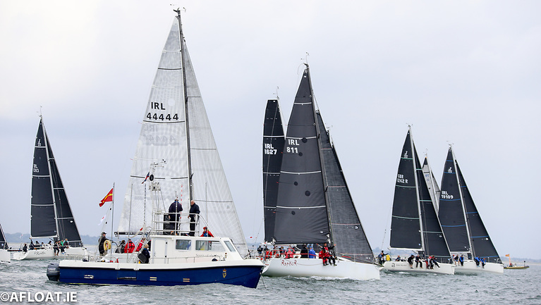 A Class One start at the 2021 ICRA National Championships Photo: Afloat