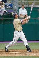 April 27, 2008: University of Washington second baseman Brad Boyer at bat against UCLA during a Pac-10 game at Husky Ballpark in Seattle, Washington.