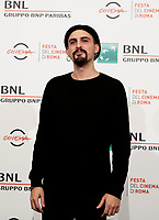 Il regista Gianluca Grandinetti posa durante il photocall per la presentazione del suo film 'Negramaro. L'anima vista da qui' alla 14^ Festa del Cinema di Roma all'Aufditorium Parco della Musica di Roma, 25 ottobre 2019.<br /> Italian director Gianluca Grandinetti poses for a photocall to present his movie 'Negramaro. L'anima vista da qui' during the 14^ Rome Film Fest at Rome's Auditorium, on 25 October 2019.<br /> UPDATE IMAGES PRESS/Isabella Bonotto