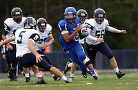 Blue Ridge School football vs Covenant School October 1, 2015 in Greene County, Virginia. Photo/Andrew Shurtleff