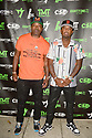 MIAMI, FLORIDA - JUNE 03: Shabazz The OG and James McNair attends The Money Team Fight Weekend Kickoff at Victory Restaurant and Lounge on June 03, 2021 in Miami, Florida. ( Photo by Johnny Louis / jlnphotography.com )