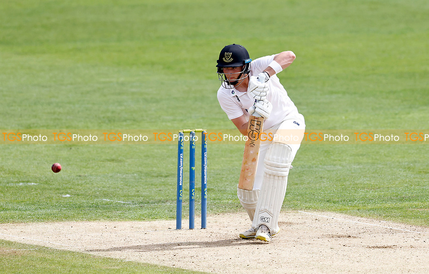 James Coles bats for Sussex during Kent CCC vs Sussex CCC, LV Insurance County Championship Group 3 Cricket at The Spitfire Ground on 11th July 2021