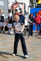 06-05-10, Zoetermeer, SilverDome, Tennis,  Davis Cup, Netherlands-Italy, Streettennis
