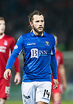 St Johnstone v Aberdeen…..24.11.19   McDiarmid Park   SPFL<br />Stevie May<br />Picture by Graeme Hart.<br />Copyright Perthshire Picture Agency<br />Tel: 01738 623350  Mobile: 07990 594431