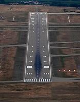 aerial photograph of Santa Maria Public Airport runway 30,  Santa Maria, Santa Barbara County, California