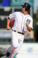 March 5, 2010:  Outfielder Ryan Raburn of the Detroit Tigers during a Spring Training game at Joker Marchant Stadium in Lakeland, FL.  Photo By Mike Janes/Four Seam Images