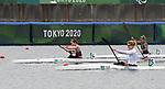 Andrea Nelson, Tokyo 2020 - Para Canoe // Paracanoë.<br /> Andrea Nelson competes in the women's single KL2 200m Kayak // Andrea Nelson participe au kayak simple féminin KL2 200m. 09/03/2021.