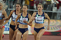 26th August 2021; Lausanne, Switzerland;  Diamond League Lausanne  1500m women Hanna Klein, Caterina Granz both Germany,