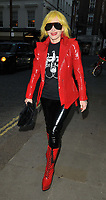 """Pam Hogg at the 65th BFI London Film Festival """"Quant"""" world premiere, Curzon Mayfair, Curzon Street, on Saturday 09th October 2021, in London, England, UK. <br /> CAP/CAN<br /> ©CAN/Capital Pictures"""