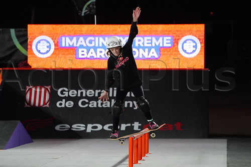 6th November 2020; Parc del Forum, Barcelona, Catalonia, Spain; Imagin Extreme Barcelona;  Daniela Terol (ESP) during the women street final